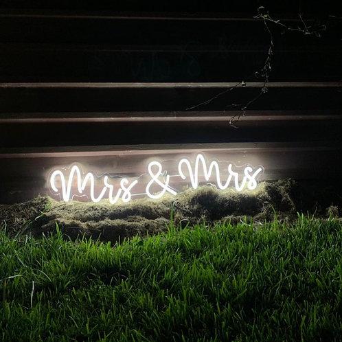 Mrs & Mrs Neon