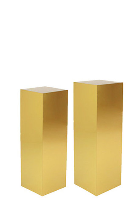 Gold Plinths