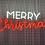 Thumbnail: Merry Christmas Neon