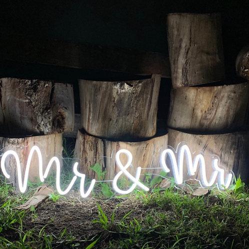 Mr & Mr neon