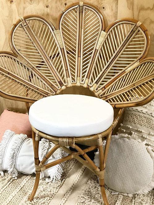 Neutral Lotus Chair