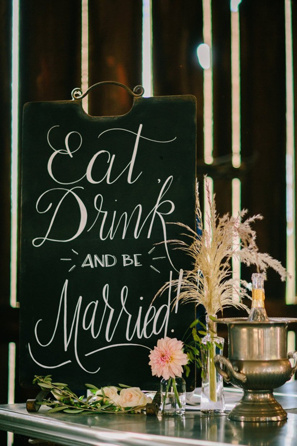 Eat Drink and be Maried