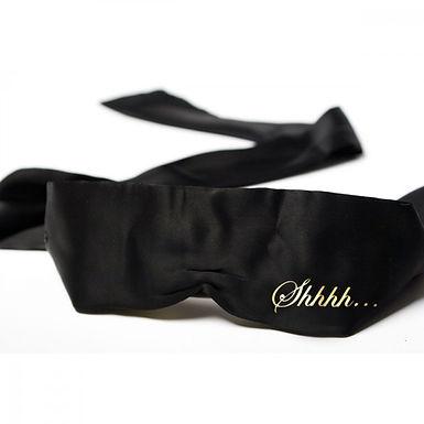 Bijoux Indiscrets Shhh Satin Blindfold