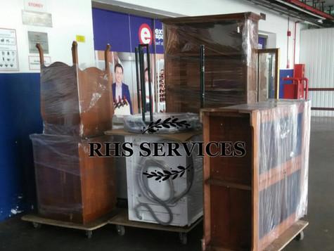 Moving Customer Stuff Into Storage