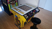 Arcade Machine Games List , Pacman, Donkey Kong, 1942, Space Invaders, Galaga, Frogger