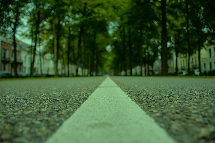 verlaten straat