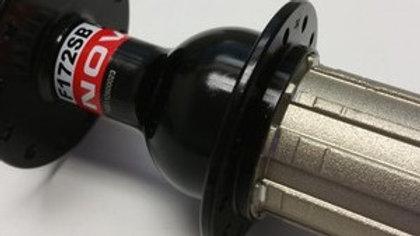 achternaaf Novatec Light 130mm