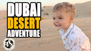 Dubai Desert Adventure For Families - Safari, Camel Rides & Dune Bashing