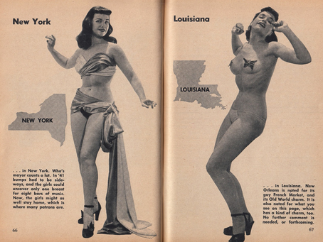 Striptease & The Law, Part II: Legal Cases + State Regulations