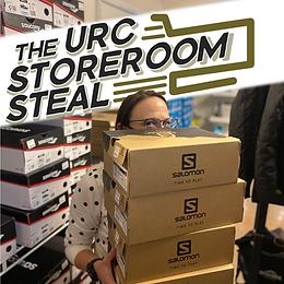 URC Storeroom Steal - Stupid Humans