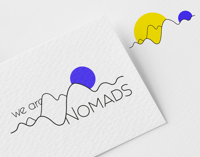 Identité pour We are Nomads
