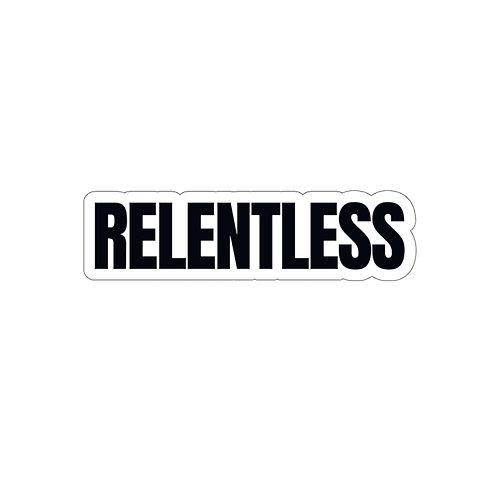 RELENTLESS Decal