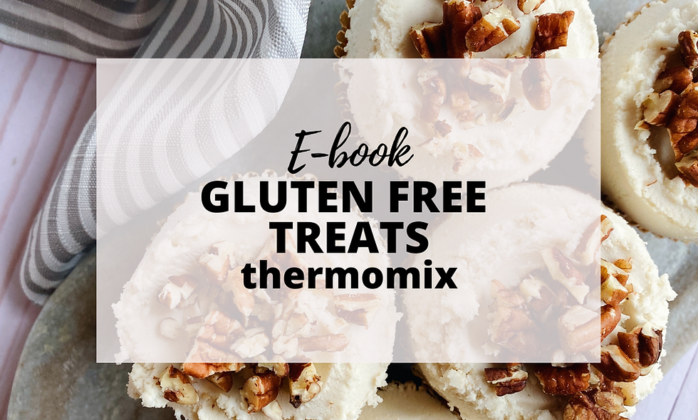 EBOOK Gluten Free Treats - Recetario Thermomix