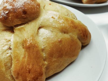 Pan de Muerto (libre de lácteos)