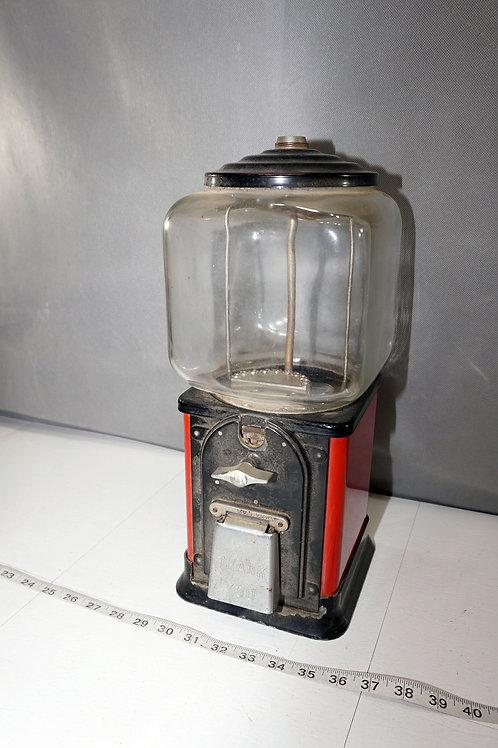 1ct Gumball Machine - Works And No Key