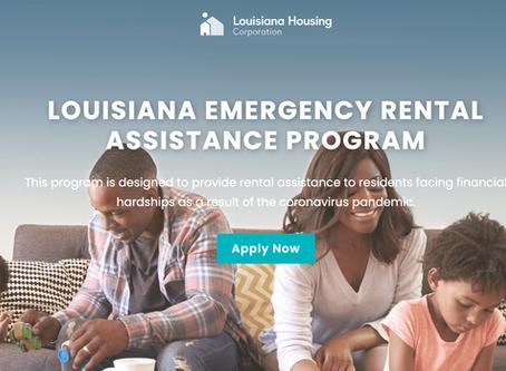 Louisiana Rental & Energy Bill Assistance Programs