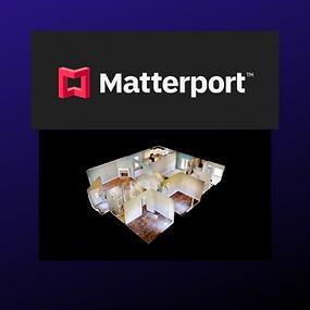 Matterport - image of a 3D Model of a home floor plan
