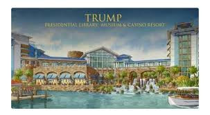 Trump presidential library now open!