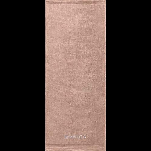 """Saunahandtuch """"Leidenschaft"""" 70x200cm mauve"""