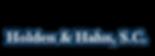 holden & hahn logo.png