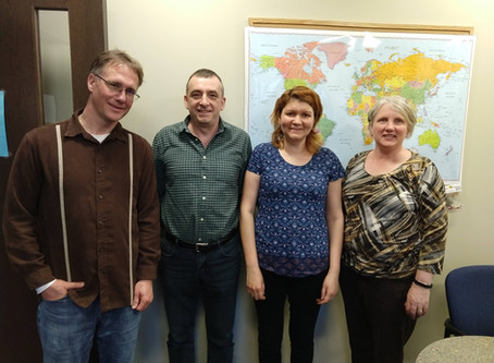 Student/Tutor Spotlight: Anna & Roman; Moscow, Russia