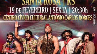 Comediante Cris Pereira se apresenta em Santa Rosa