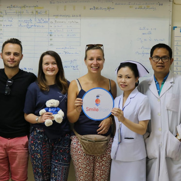 Meeting the Team in Laos