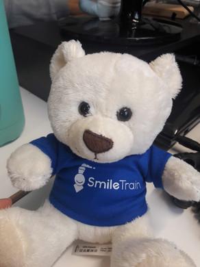 Smile Train UK's new teddy bear