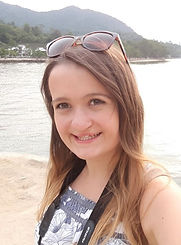 Born with a cleft lip and palate, the image shows Beth at twenty years old