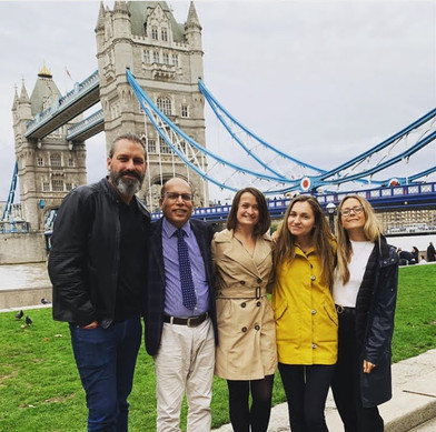 Enjoying London with our South Asia Director
