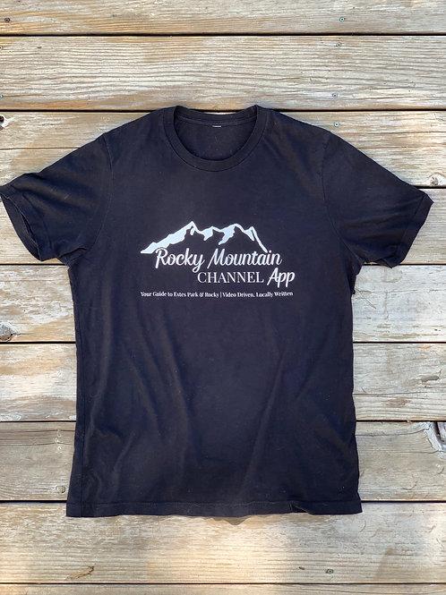 Rocky Mountain Channel App Tee (Black)