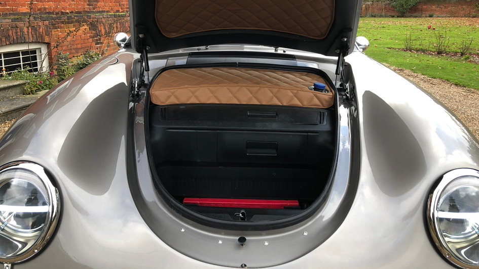 387 front boot