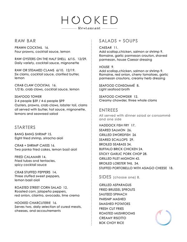 Hooked Dinner Menu 2020.png