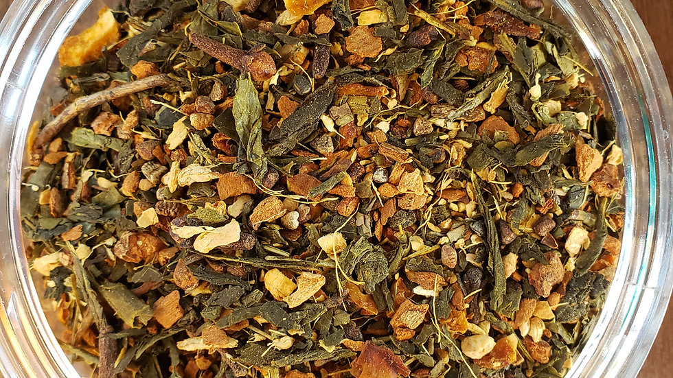 Cinnamon Chai Green (3 serving packet)