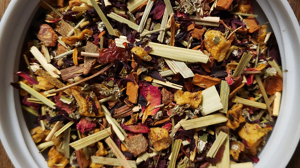 Passionfruit Hibiscus Herbal (6 serving packet)