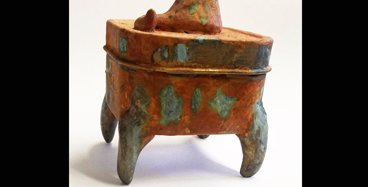 Cat Call: Rusty Kitty Cauldron
