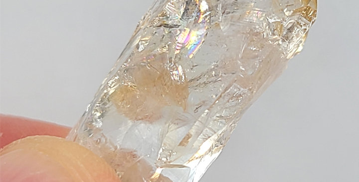 natural citrine crystal point #3