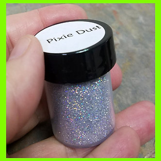 Pixie Dust Silver SurfaceFX glitter-Biggie Size .5oz