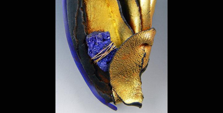"""""""Golden Flutters"""" brooch"""