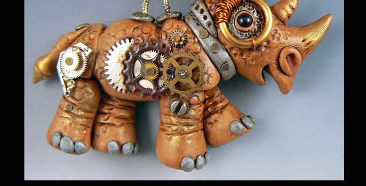 Steampunk Rhino