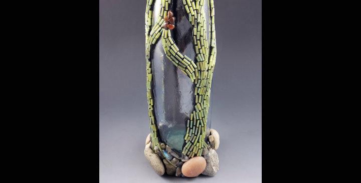Stone Forest vase