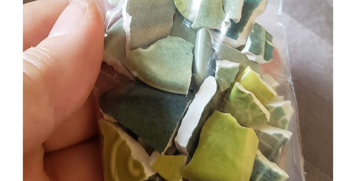 """SOLD OUT """"MarshaShards"""" - GREENMIX"""