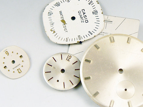 Time Travel -vintage watch faces