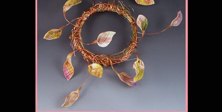 """""""Flutter Wreath"""" decor"""