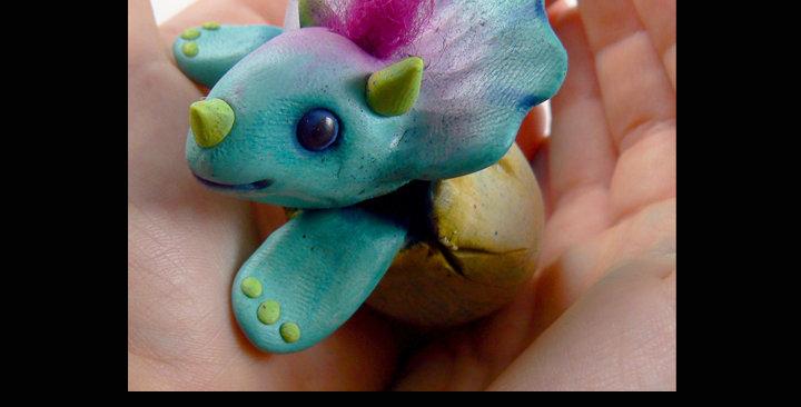 Triceratops Hatchling