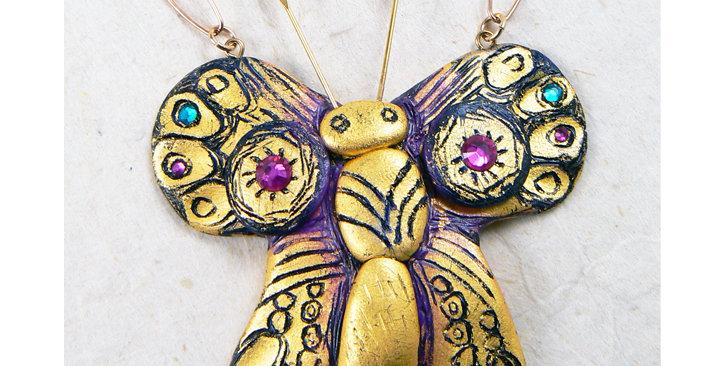 "NECKLACE - ""Princess Butterfly"""
