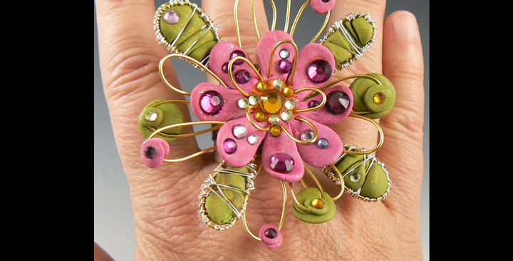 """""""Wired and Wonderful"""" ring"""