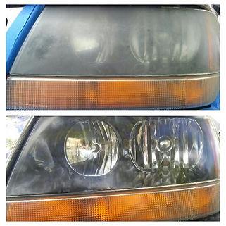 Jeep Grand Cherokee Head Light Restoration