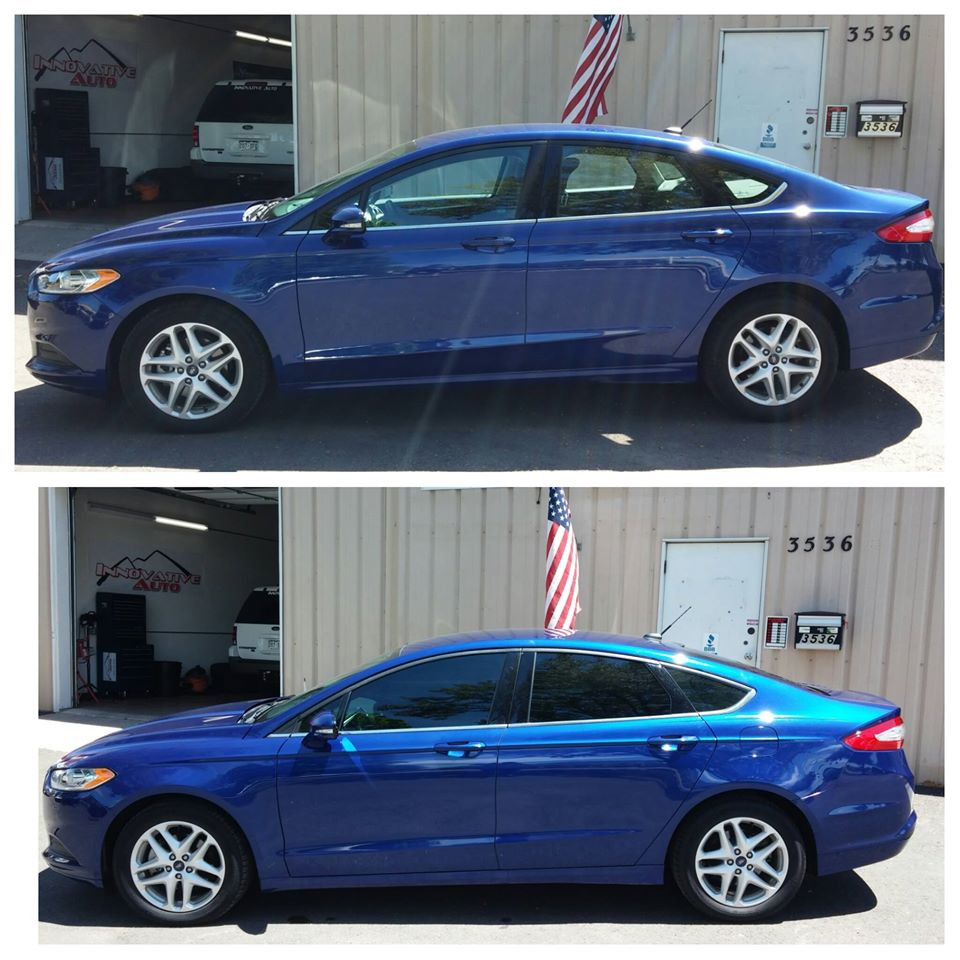 Window Tint on a Ford Fusion