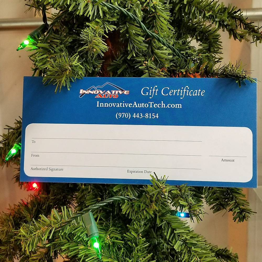 Detailing Gift Certificate